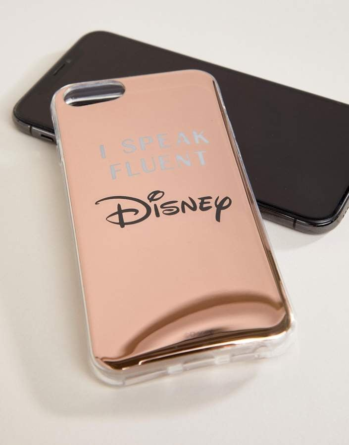 sneakers for cheap d342f 740b5 Typo Fluent in Disney Metallic Phone Case iPhone 6/6S/7/8 | Cheap ...