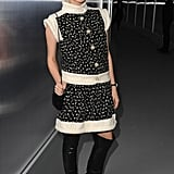 Diane Kruger wore Chanel in Paris.