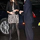 Back in 2011 Kate chose a black and white Zara dress costing $103 for a Princes' Trust concert.