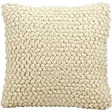 """Nourison Thin Group Loops Decorative Toss Pillow — Ivory (20""""X20"""") ($76, originally $80)"""
