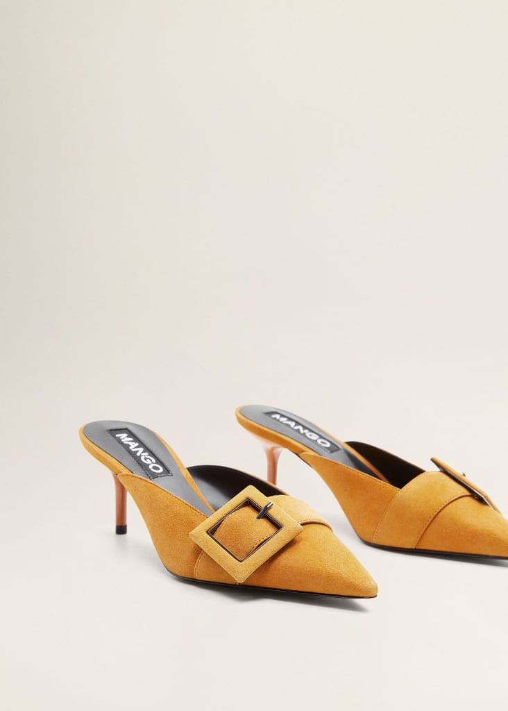 Mango Buckle leather shoes | Shoes