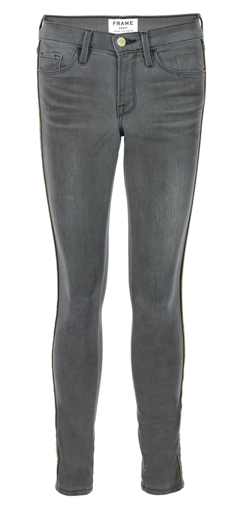 Frame Denim Le Skinny Zippered Outseam Jean in Thacher ($249)