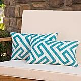 Swinford Geometric Rectangular Outdoor Lumbar Pillows