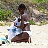 Lupita Nyong'o Shows Off Her Bikini Body in Maui!