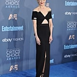 Nicole wearing Brandon Maxwell at the 2016 Critics' Choice Awards.