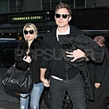 Jessica Simpson and Eric Johnson Wear Matching Shades in NYC