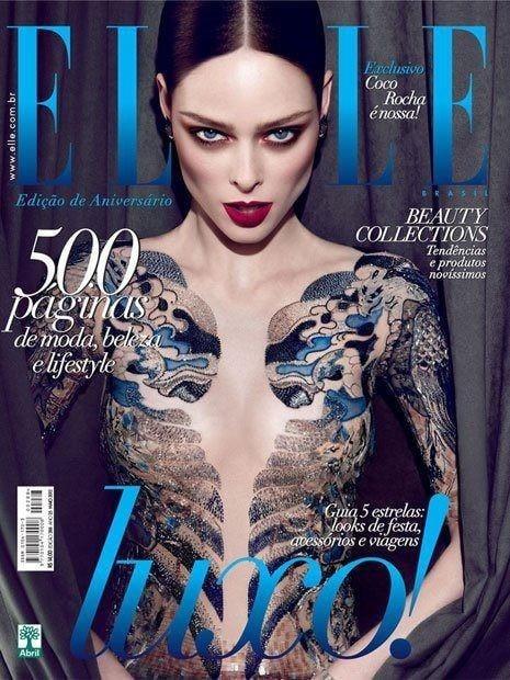 Elle Brazil March 2011