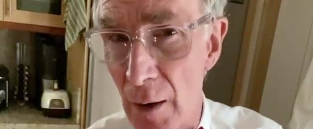 Bill Nye Shares Face-Mask PSA on TikTok | Videos