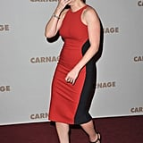 Kate Winslet at a premiere in Paris.