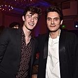 Shawn Mendes and John Mayer