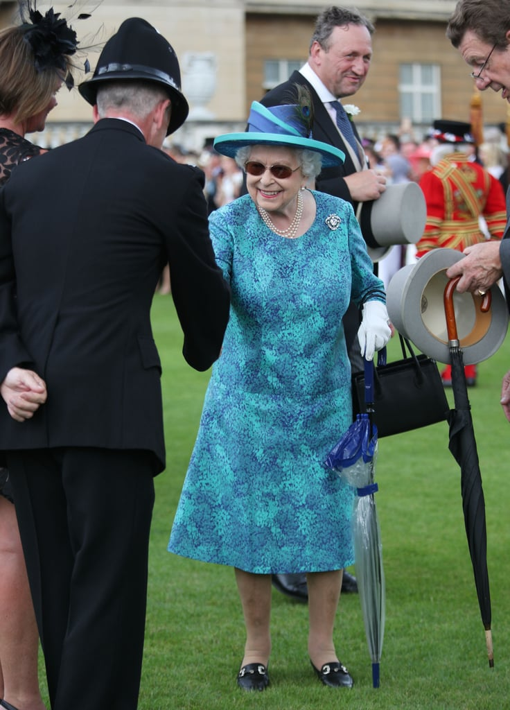 Queen Elizabeth II Buckingham Palace Garden Party May 2018