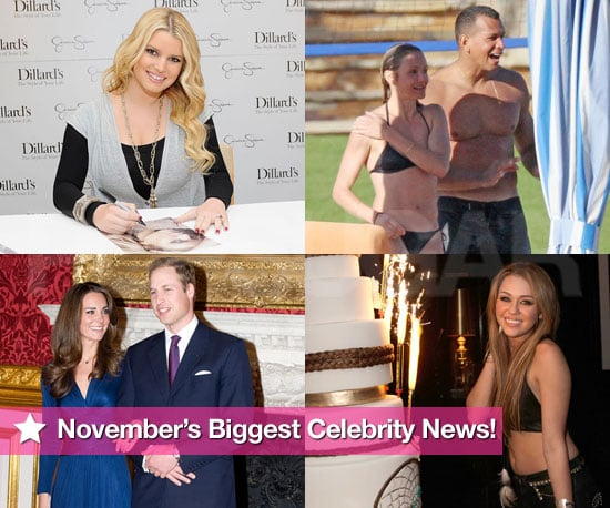 Biggest Celebrity Headlines of November 2010