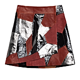 Rodarte x & Other Stories Patchwork Leather Miniskirt ($295)