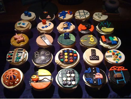 Cupcakes Made With Video Game Logos Popsugar Tech