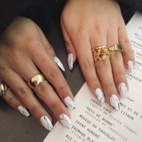 Stone Marble Nail Art Trend | POPSUGAR Beauty Australia