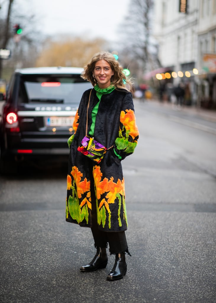 Stand Out in a Colourful Coat