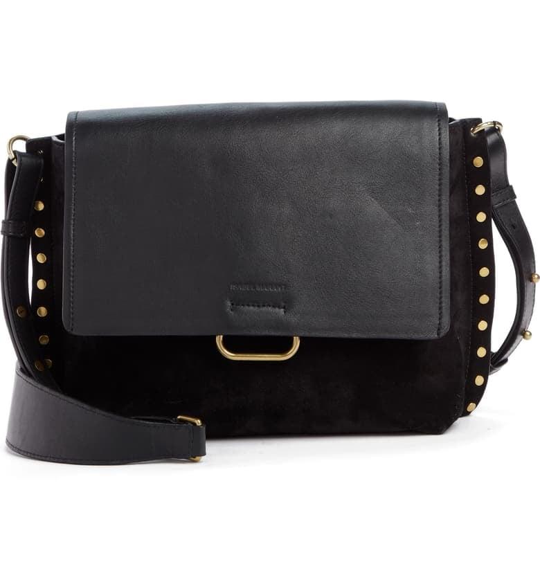 Isabel Marant Asli Leather Messenger Bag