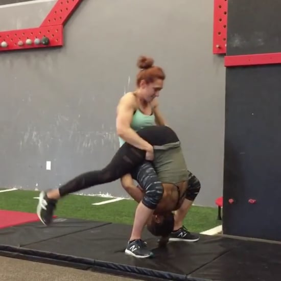 Women Do Partner Tumbling Trick