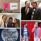 """Tune in tonight for a very special episode of Saved by The Tonight Show! :-) @mariolopezextra @jimmyfallon @mikedicenzo @fallentonight #BellReunion #FansWin #Veryspecialnight"""