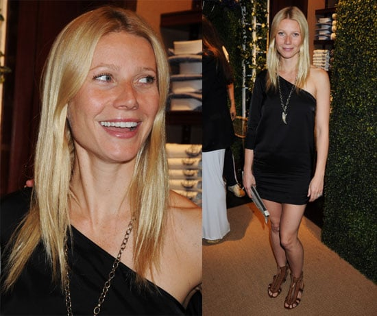 Pictures of Gwyneth Paltrow at the Ralph Lauren Store in London