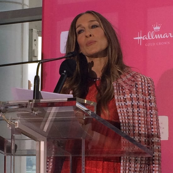 Sarah Jessica Parker Talks Motherhood at Hallmark Launch