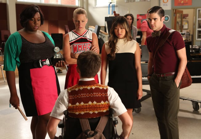 The New Directions get some new members on Glee.