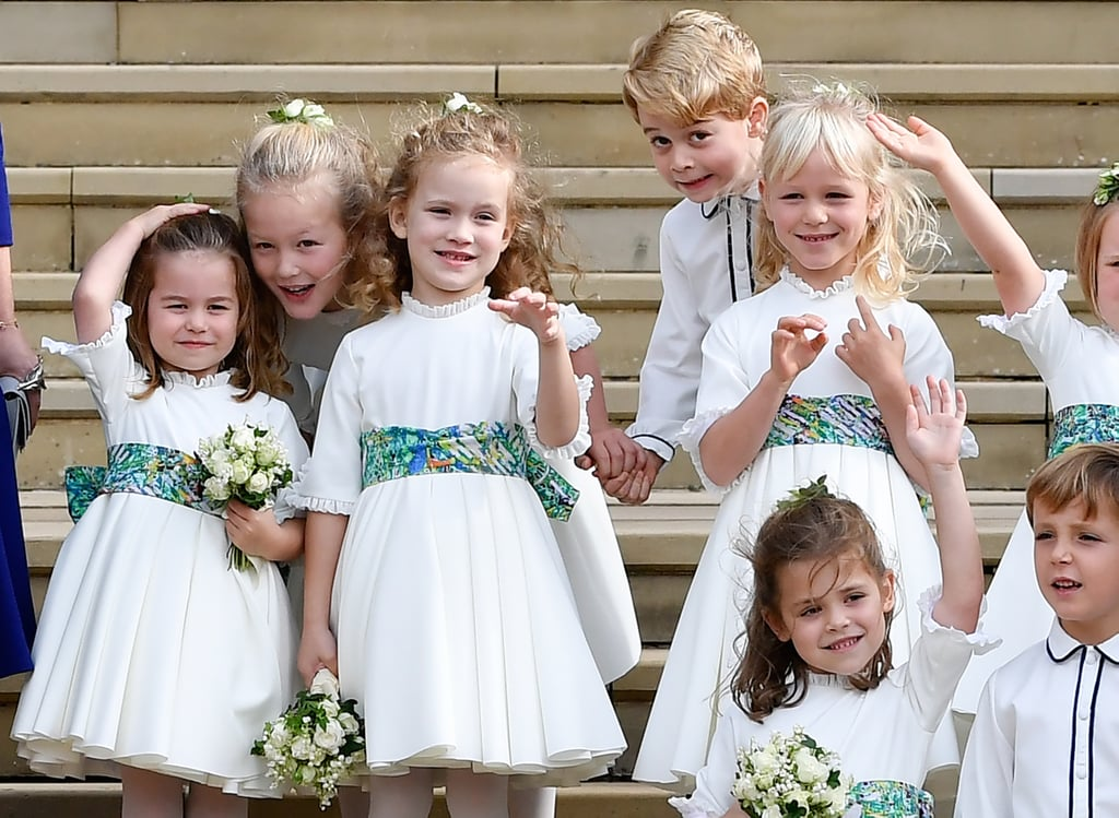 The Royal Pageboys and Bridesmaids in 2018
