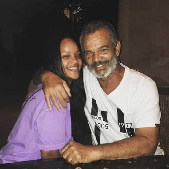 Rihanna With Her Parents August 2018