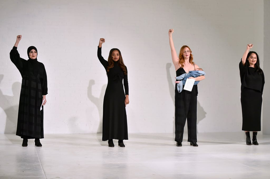 See the Powerful Images of the Women's March Leaders on the NYFW Runway