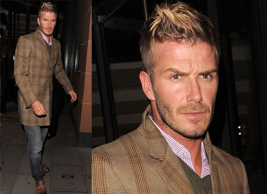 Photos of David Beckham out at Cipriani