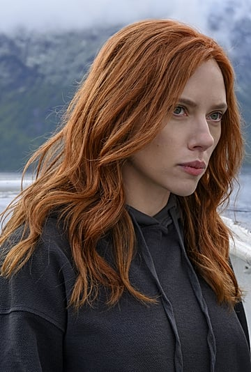 The Copper Hair Color Trend Is Back, Thanks to Black Widow