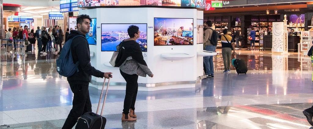 مطارات دبي تحظر المنتجات البلاستيكية ذات الاستخدام الواحد