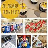 Vintage Train Birthday Party