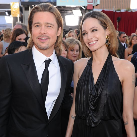 Celebrity Couples at 2012 SAG Awards Red Carpet, Including Brad Pitt and Angelina Jolie