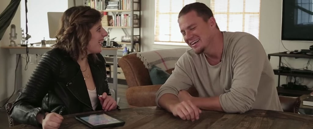 A Reporter With Autism Has Channing Tatum Giggling Nonstop During Their Cute Interview