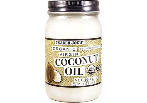 Trader Joe's Organic Virgin Coconut Oil ($5)
