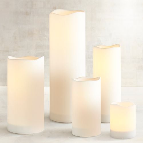 Deco Wick LED Pillar Candles
