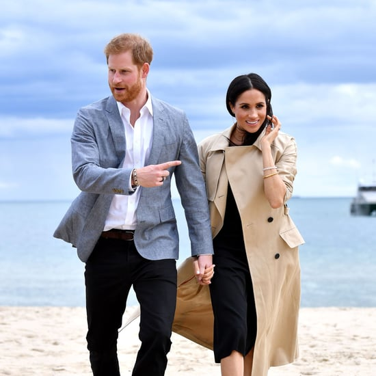 Meghan Markle Wearing Flats Oct. 2018