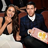 Nick Jonas and Olivia Culpo, 2014