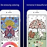 Lake: De-Stress Therapy with Art Colouring Pages