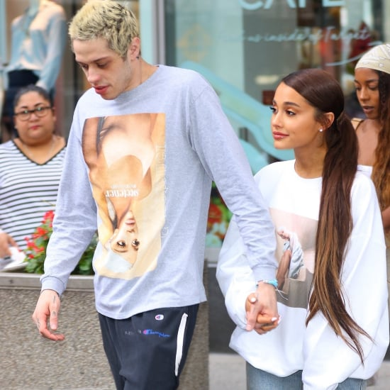 Ariana Grande and Pete Davidson Wearing Sweetener Merch 2018