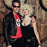 Harry Hamlin and Lisa Rinna as Sid Vicious and Nancy Spungen