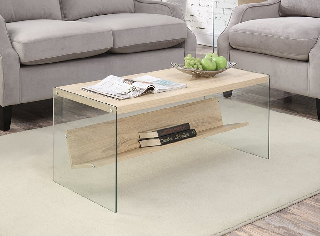 Cheap coffee table popsugar home for Couchtisch ahorn glas