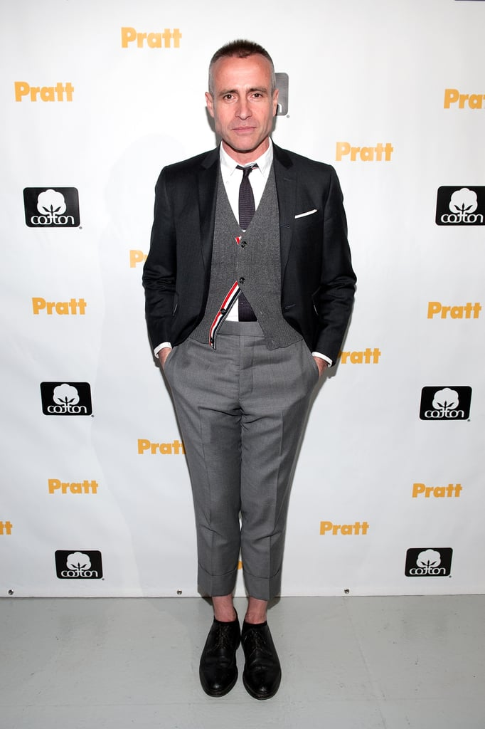 Thom Browne at the 114th annual Pratt Institute Fashion Show & Award Presentation in New York.