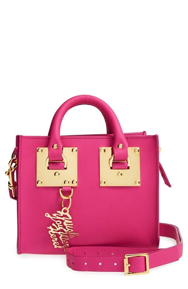 Sophie Hulme Leather Box Crossbody Bag ($595)