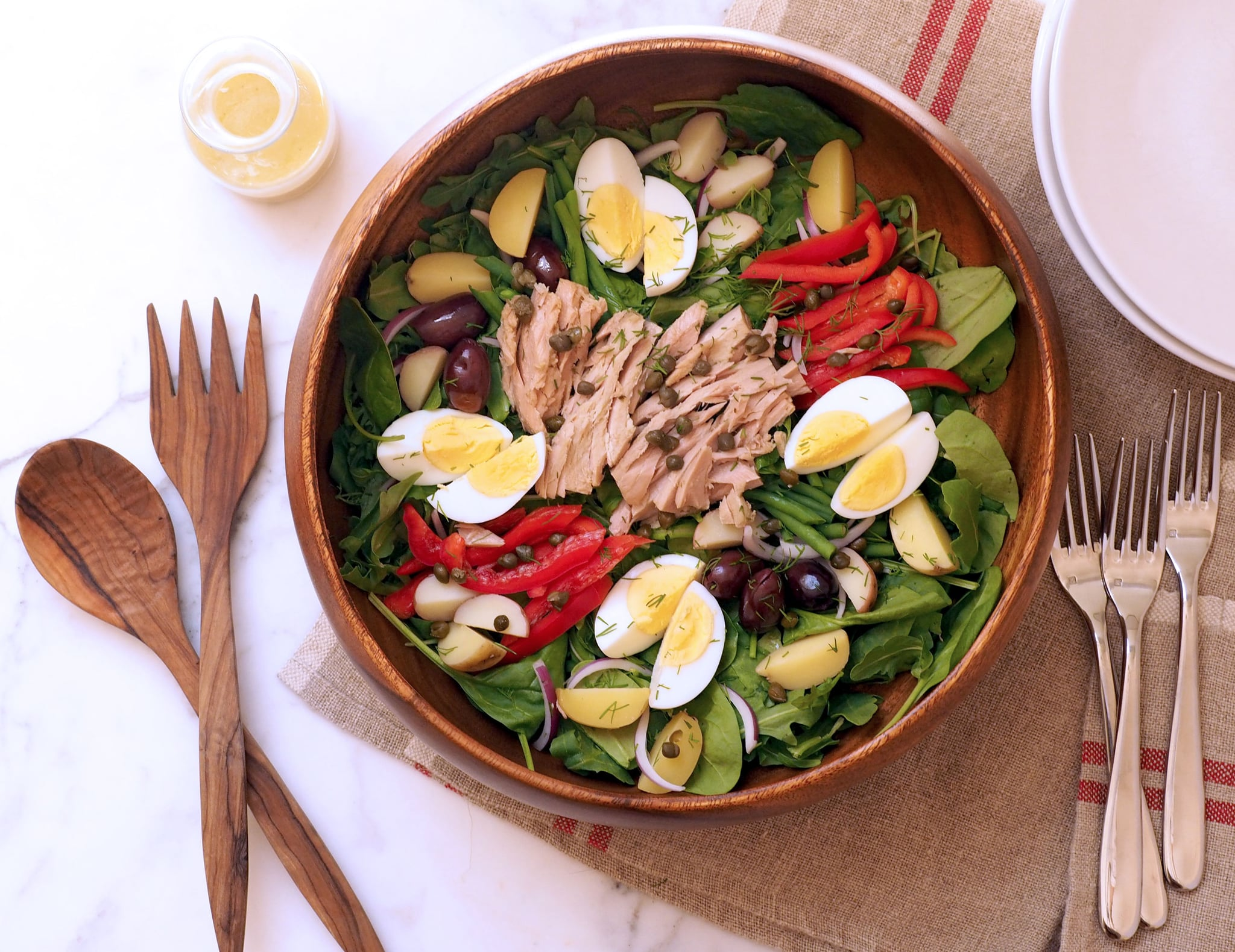 easy nicoise salad recipe popsugar fitness australia