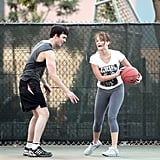 """Nicholas towered over Jennifer at a whopping 6' 3""""."""