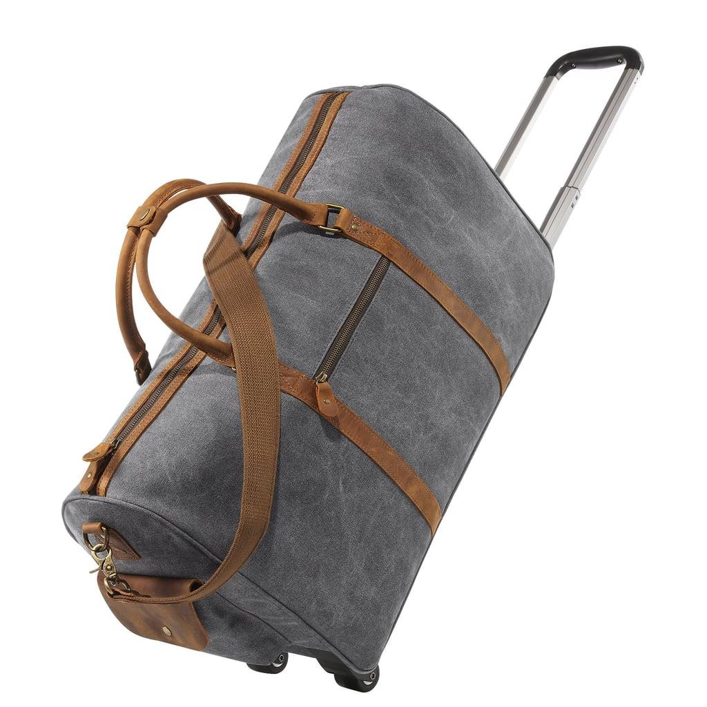 Kattee Rolling Duffle Bag with Wheels