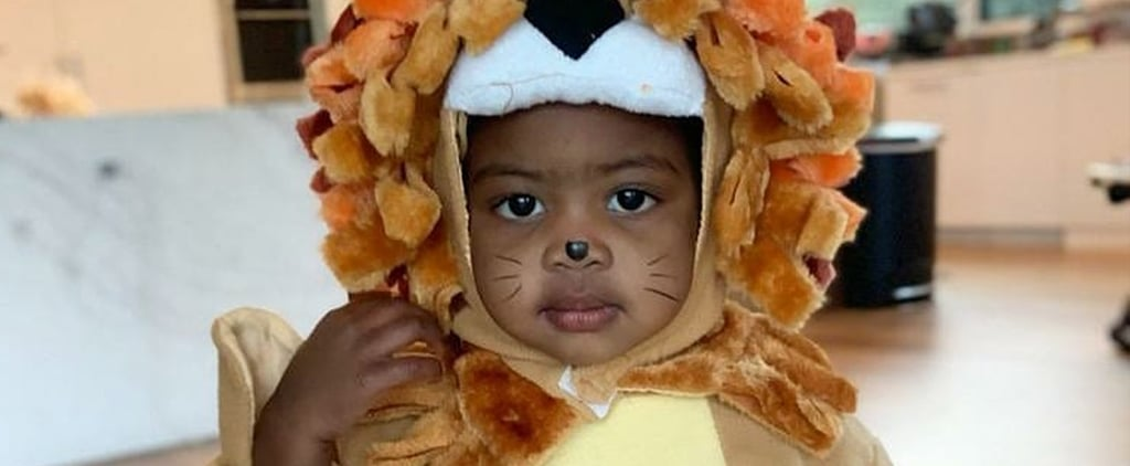 Kaavia James's Lion Queen Costume Is Purr-Fect For Halloween