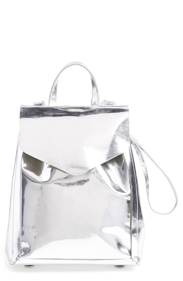 Loeffler Randall Mini Leather Backpack ($395)